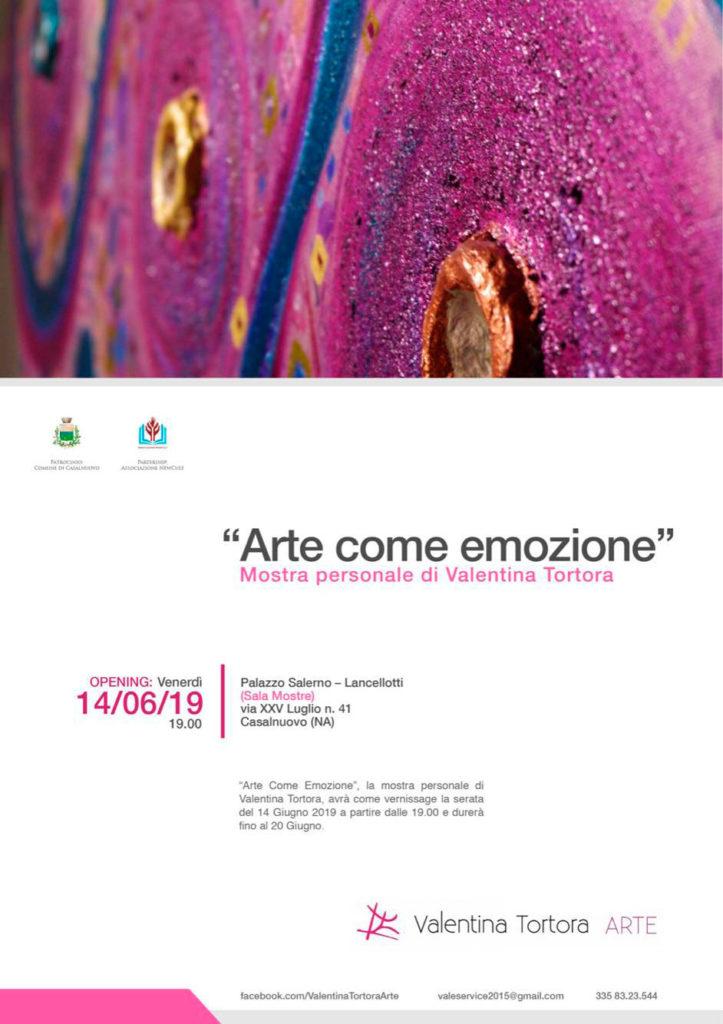 """Arte come emozione"" Valentina Tortora"